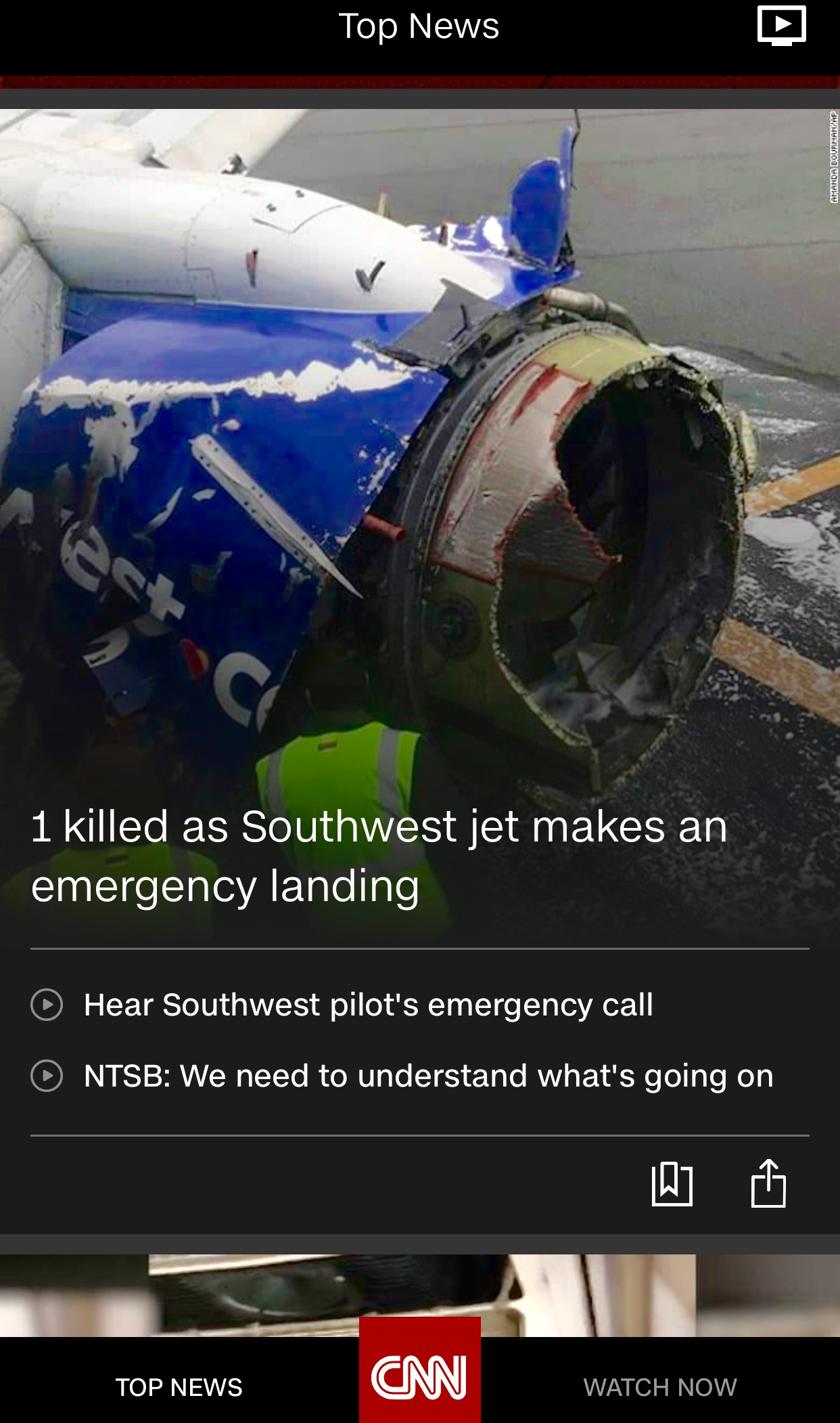 Incident – Air Travel and Mid Flight Engine Failures