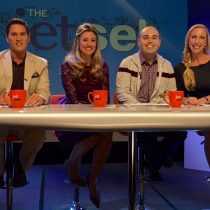 On TV with the cast and crew of The Jet Set! I am so grateful for sharing such a amazing experience as a guest with Gailen David, Bobby Laurie, and Nikki Noya! This is an awesome, one of a kind Travel Talk show so come check it out at www.TheJetSet.TV!!