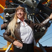 We re-created vintage aviation with this gorgeous radial engine bi-plane!