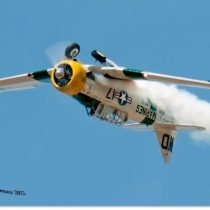 Awesome shot of John Collver and his T-6 War Dog – Wardog17.com for show schedules and rides!