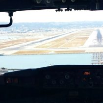 Sweet shot from the jumpseat – parallel approaches into SFO