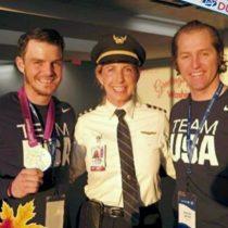 Olympians Jake Kaminski and Steve Garbett – Go athletes!
