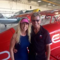 The most amazing aerobatic pilot I have ever seen! Sean D. Tucker – you must see what he does with that airplane! Truly jaw dropping – check out his show schedule and more at poweraerobatics.com!