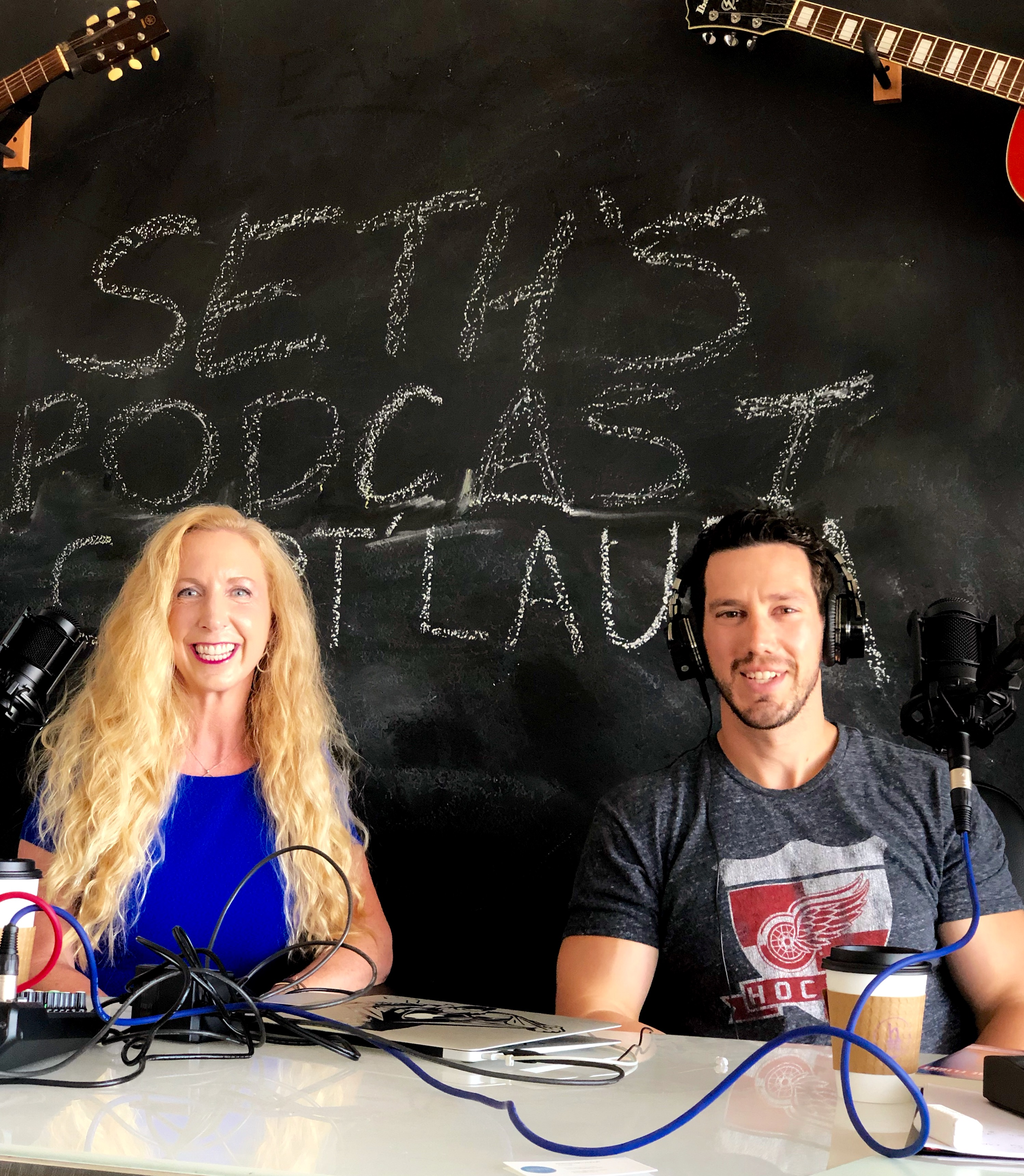 Podcast Interview w/ Host Seth Markzon !!